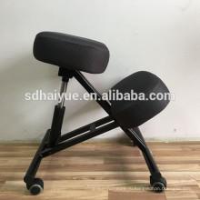 HY5001 эргономичный на коленях осанка стул - черный - подходит для светлого офиса, чтобы способствовать хорошей осанке