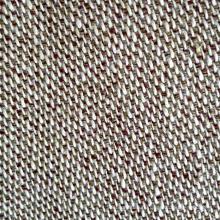 Tissu intercalé mélangé de coton au chanvre (QF13-0012)