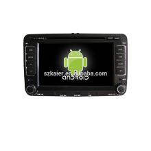 ¡Reproductor de DVD del coche de android 4.4 de la base cuádruple para VW Magotan + factory directamente + OEM + DVR!