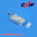 Cat6e Ethernet conector de Metal