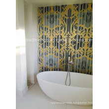 Background Design Glass Mosaic Wall Mosaic Pattern (HMP853)