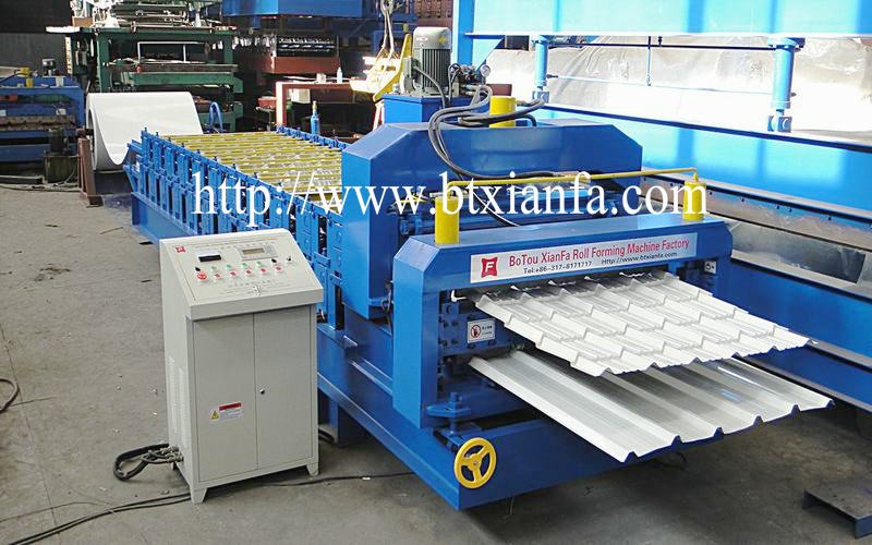 roof galvanized sheet machine