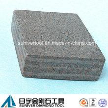 Mehrschichtige 30mm hohen Segment Diamant zum Schneiden von abrasivem Material
