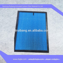 odor removal activated carbon filters PP filter/paper filter/aluminum filter for home air purifier