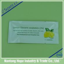 Lemon Glycerin Swabstick