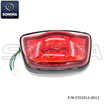 ZNEN PIEZA DE RECAMBIO ZN50QT-30A Riva Tail light black frame (P / N: ST02012-0012) Calidad superior