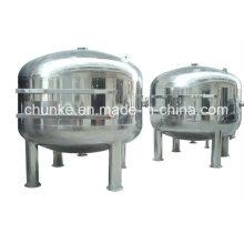 Filtre industriel de sac d'eau d'acier inoxydable pour l'usine de traitement de l'eau