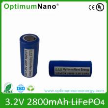 26650 3.2V 2.8ah 2800mAh Battery Cell for EV E-Tool
