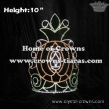10inch Pumpkin Halloween Pageant Crowns