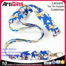 Baeutiful and high quality customized heat transfer lanyard for sale