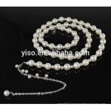 Bretelles de soutien-gorge de perle