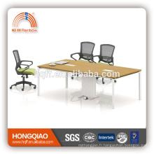 (MFC) Cadre moderne d'acier inoxydable de table de conférence de HT-03 pour des tables de conférence de 6M à vendre