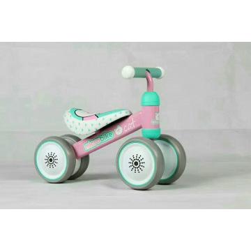 Passeio material da segurança dos PP na bicicleta do equilíbrio do bebê do brinquedo mini