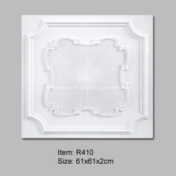 Квадратные потолочные плитки с потолочная розетка