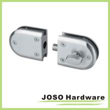 Pocket Door Hardware Lock Glass Door Locker (GDL006B)