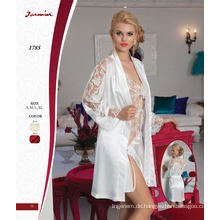 Satin & Lace Nightdress zweiteiliges Set