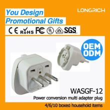 hight quality products 3 way german style socket,ce rohs approved wireless two usb socket