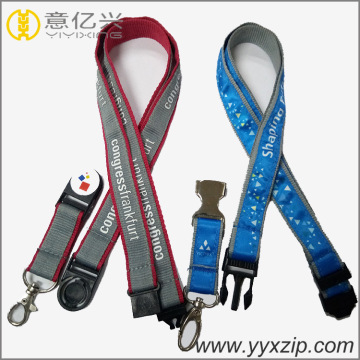 Fashion Business ID Badge Holder Lanyard para reunirse