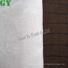 Gravei a matéria têxtil Home tela do sofá de camurça de poliéster