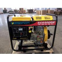 AC Single Phase 5kw Diesel Generator Open-Frame-Typ für Shop und Camp Verwendung