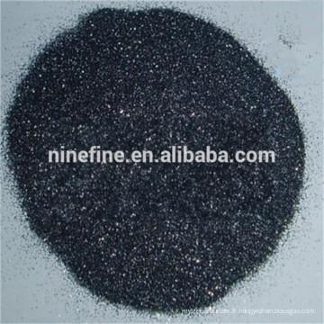 Carbure de silicium noir