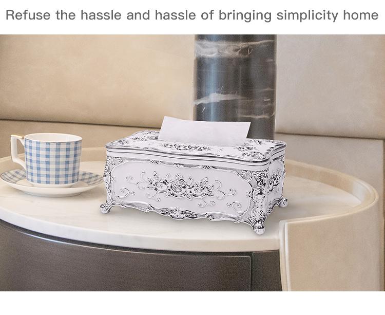 Oem Custom Storage Living Room Plastic Tissue Box8 Jpg