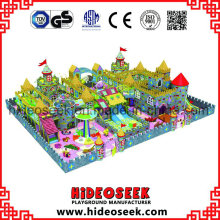 Castle Theme Children Juego de interior con toboganes