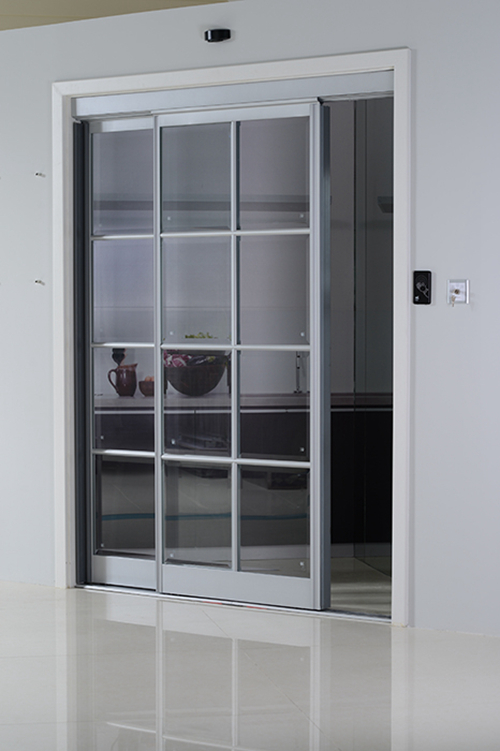 Automatic Interior Sliding Doors for Kitchen