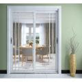 Portes coulissantes en verre en aluminium de meilleure qualité utilisées en vente chaude aux Philippines