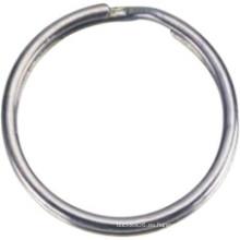 Hardware de metal de acero inoxidable de latón soldado anillo redondo