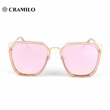 2018 color change metal frame sunglasses sale rainbow color sunglass for men
