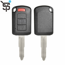 Factory price car keys for Mitsubish key case 3 button YS200644