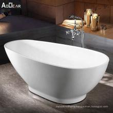 Aokeliya  acrylic japanese style freestanding bathtub for small bathroom