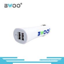 Bwoo Großhandel Mini Bunte 5V3.1A Dual USB Autoladegerät