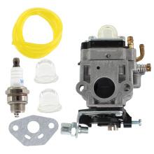 Karburator Carburateur Carburetor Carb Fits For Weedeater 1E34F,1E36F TU26 TL26 Brush Cutter 26cc 33cc Carburetor Kit 10mm