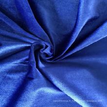Commerce de gros 100% polyester en vrac pour vêtements de sport
