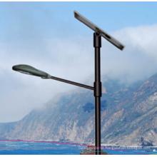 40W luz de rua solar do diodo emissor de luz com controlador patenteado, lâmpada de rua