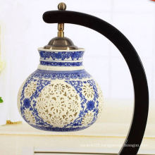 Hot sale ceramic blue and white lampshade