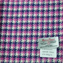 Houndstooth cor diferente tecido de terno de tweed Harris