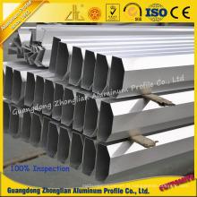 O perfil de alumínio anodizado personalizado fabricante da extrusão de alumínio anodiza-se