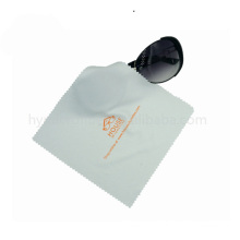 Reusable printed microfiber cleaning cloth for glasses lens