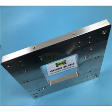 Plaque d'acier découpée au laser sur mesure en tôle de précision