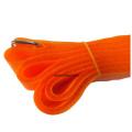 Abraçadeiras laranjas de tamanhos personalizados ajustáveis