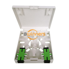2 Ports Fiber Optic Faceplate