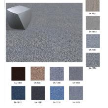Nylon 66 Fire Proof Carpet Tiles with PVC Backing