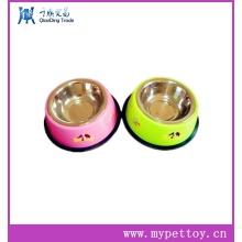 Pet Bowl (aço inoxidável), Dog Food & Água Bowl