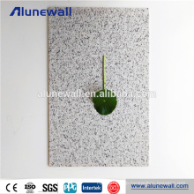 2-6mm stone look decorative aluminum plastic wall panels for outdoor