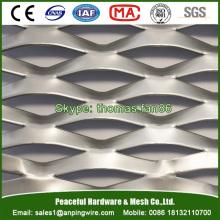 Maillage en aluminium pour rideaux / assiette agrandie