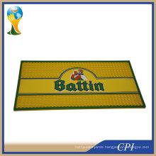 Promotional Custom Logo PVC Bar Mat