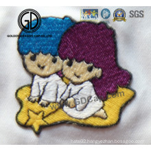 Beautiful Lovely Cartoon Logo Pattern Embroidery for Clothing & Caps